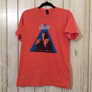 The Police band tee men's medium